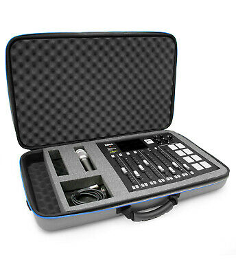 CM Carry Case fits Rode RODECaster Pro Podcast Production Studio - Case Only