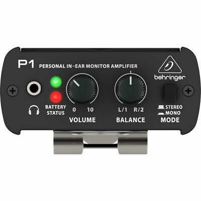 Behringer Powerplay P1 Personal In-Ear Monitor Amp.   Brand New