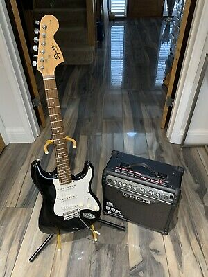 Fender Squire affinity stratocaster plus Line 6 Amplifier