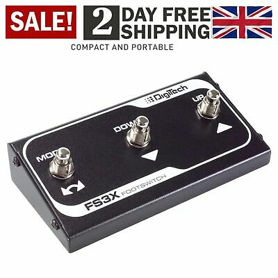 DigiTech FS3X 3-Button Footswitch For Digitech Pedals 3 Button Footswitch