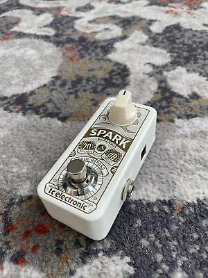 TC Electronic Spark Mini Booster Pedal guitar effects