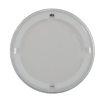 DW Single Ply Drum Heads - Coated/Clear