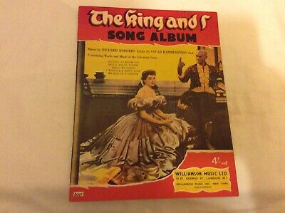 """""""The King and I"""" Song album.by Rodgers & Hammerstein.1960.For Piano And Voice."""