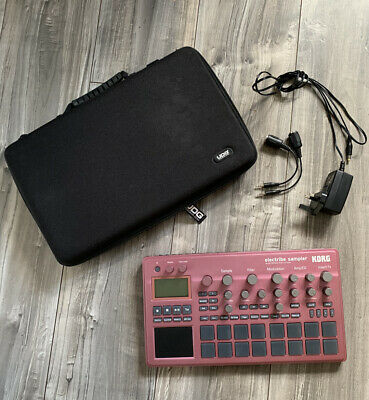 Korg Electribe 2 Sampler With MIDI Cables And UDG Case