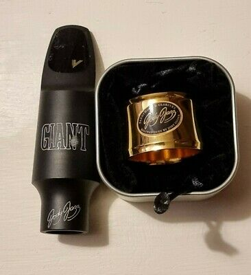 Jody Jazz Giant 8 Tenor Sax Mouthpiece with cap and Power Ring ligature