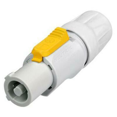 Genuine Neutrik NAC3FCB  Powercon Cable End Power Out, Gray Rated 20A/250V (AC) • 6.68£