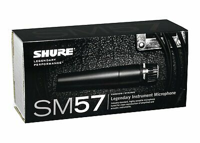 Shure SM57 Dynamic Cardioid Microphone • 80.14£