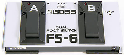 Boss FS-6 Dual Footswitch Boss FS6 Combines Latch And Momentary-type Switching  • 52.09£