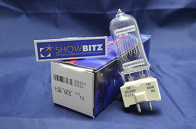 T26 T-26 Lamp Theatre Stage Lighting  Bulb 650W T26 Class GE GY9.5 (T27) X FIVE • 47£
