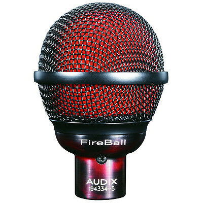 Audix FireBall Dynamic Microphone Specifically Tuned For Harmonica, New! • 149.29£