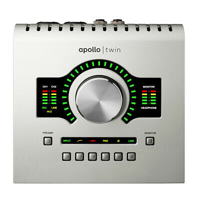 Universal Audio Apollo Twin USB With Duo DSP Processing For Windows Only • 673.66£