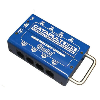 Radial Engineering Catapult RX4 Cat5 Audio Receiver (8 XLR Out) • 100.35£