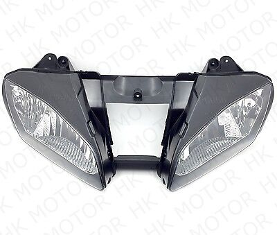 New Front Black Head Light Lamp For 2006-2007 Yamaha YZF-R6 YZFR6 R6 06 07 USA • 40.77£