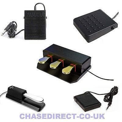 Sustain Damper Pedal Foot Switch Casio Yamaha Korg Roland Universal FC5 SP3 TB5 • 29.99£
