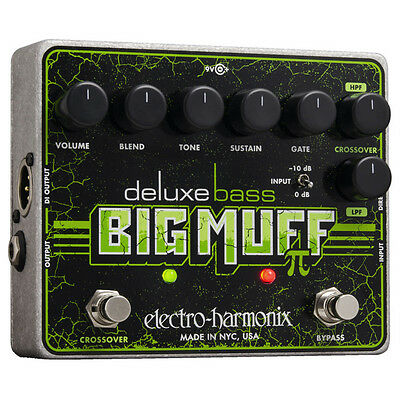 Electro Harmonix Deluxe Bass Big Muff Pi Bass - Guitar Effect Pedal • 122£