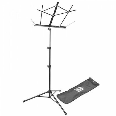 On Stage Stands - SM7122BB Compact Sheet Music Stand With Bag - Black • 18.99£