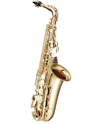 New YAMAHA YAS-280 Gold Lacquer Student Alto Saxophones - World Wide Shipping!! • 775.89£