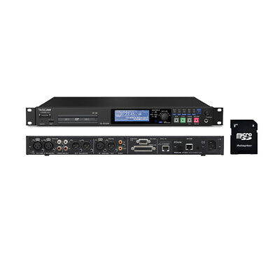 Tascam SS-R250N Memory Recorder With EV Music 32gb SD Card New • 630.81£