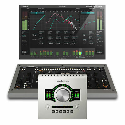 Universal Audio Apollo Twin USB With Duo DSP Processing W/Softube Console 1 MK2 • 1,018.08£