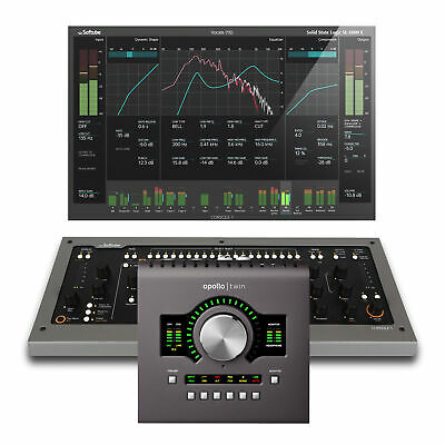 Universal Audio Apollo Twin MkII W/ Duo Processing With Softube Console 1 MKII • 990.36£
