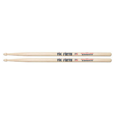 Vic Firth American Classic 5BDG Double Glaze Wood Tip Drum Sticks • 7.71£
