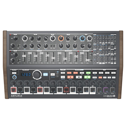 Arturia Minibrute 2S Semi-Modular Analogue Sequencer Synth Module With Patch Bay • 529£
