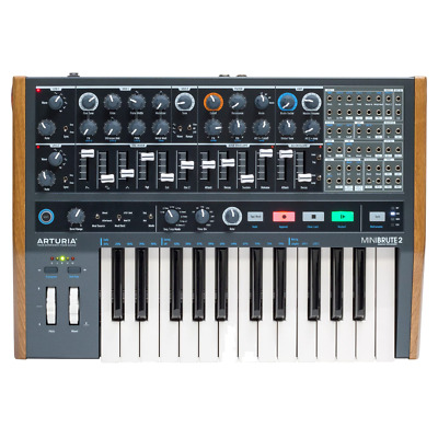 Arturia Minibrute 2 Semi-Modular Analogue Synth With Patch Bay And Keyboard • 529£