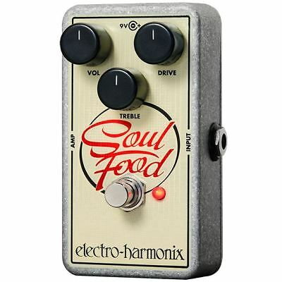 Electro Harmonix Soul Food Transparent Overdrive Pedal • 84£
