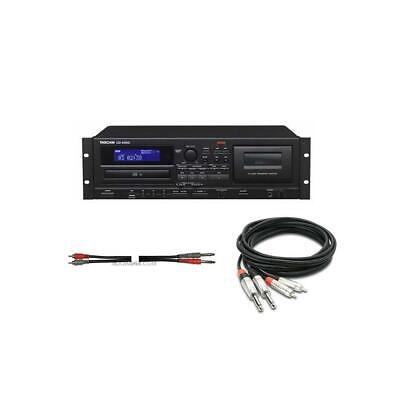 Tascam CD-A580 Cassette, USB  CD Player/Recorder - With Two Cables #CD-A580 A • 364.11£