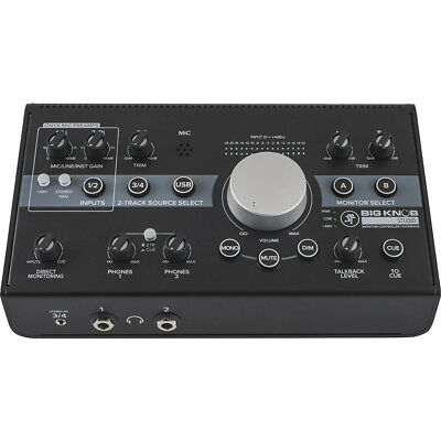 Mackie Big Knob Studio Monitor Controller And Interface, New! • 196.77£