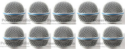 10XBall Head Mesh Grille Accessories For Shure BETA58 BETA58A SM58 SM58S SM58LC  • 19.31£