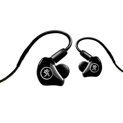 Mackie MP-240 Hybrid Dual Driver In Ear Headphones Monitors Sound Isolation NEW • 159.62£
