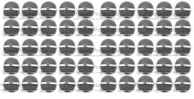 50X Ball Head Mesh Microphone Grille For Shure SM58 SM58S SM58LC BETA58  • 69.31£