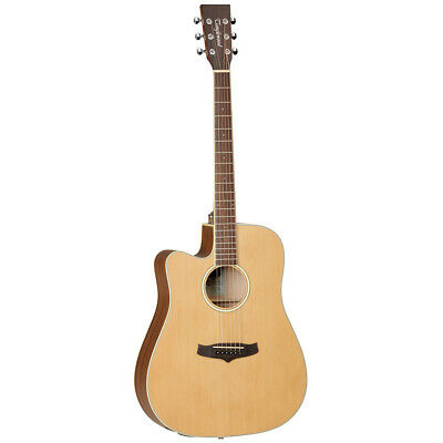 Tanglewood TW10 E LH Left-Handed Dreadnought Cutaway A/E Guitar, New! • 233.30£