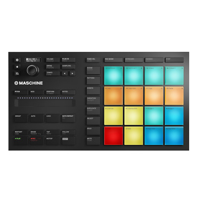 Native Instruments Maschine Mikro MK3 Groove Production Studio USB Controller • 189£