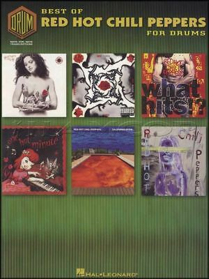 Best Of Red Hot Chili Peppers For Drums Music Book By The Way Californication
