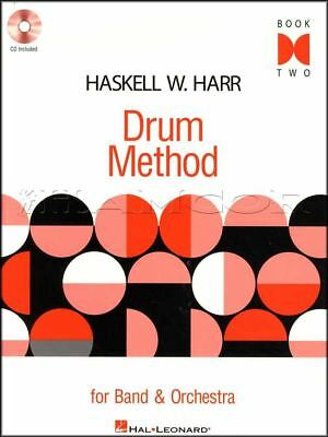 Drum Method For Band & Orchestra 2 Sheet Music Book/CD Snare Drum Learn To Play