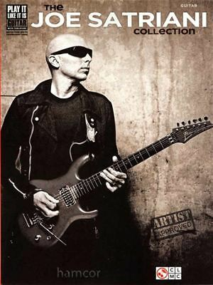 The Joe Satriani Collection Guitar TAB Book Sheet Music Tablature Transcriptions • 16.93£