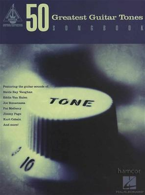 50 Greatest Guitar Tones Songbook Recorded Version TAB Music Book OVER 500 PAGES