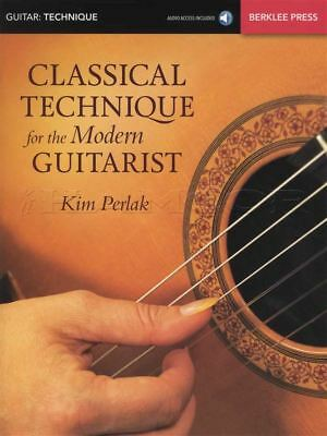 Classical Technique for the Modern Guitarist Sheet Music Book with Audio
