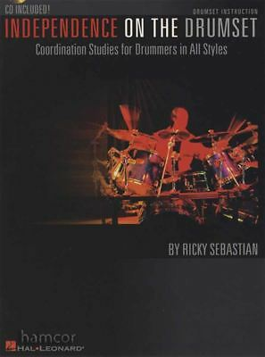 Independence On The Drumset Drum Music Book/CD Coordination Studies All Styles • 13.70£