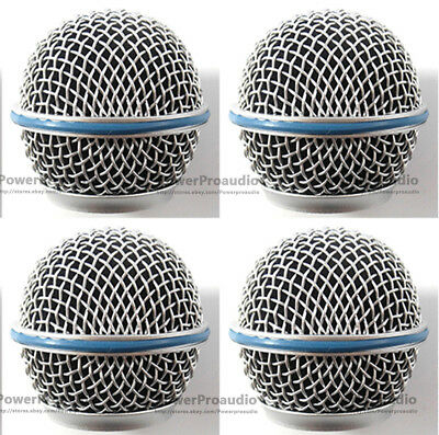 4PCS Microphone Grille For Shure BETA58 BETA58A SM 58 SM58S SM58LC • 9.89£