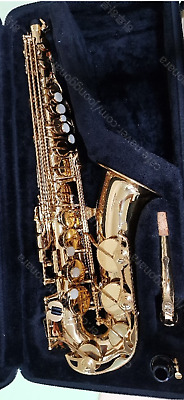NEW Genuine YAS-280 Gold Lacquer Student Alto Saxophones For YAMAHA  • 775.87£
