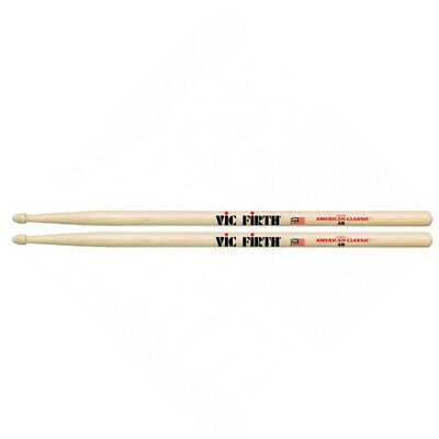 Vic Firth 5B American Classic Hickory - Wood Tip Drum Sticks, New! • 9.75£