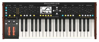 BEHRINGER DEEPMIND 6 Synthesizer Analog Desktop 6 Voci 37 Keys • 578.91£