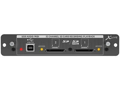 Behringer X-live Card Of Expansion X32 For Rec / Playback In 32 Channels • 229.67£