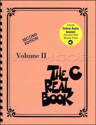 The Real Book C Volume 2 Second Edition Sheet Music Book/Audio SAME DAY DISPATCH