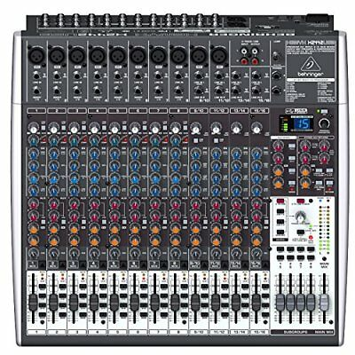Behringer Xenyx X2442USB Premium 24-Input 4/2-Bus Mixer With USB/Audio Interface • 388.59£