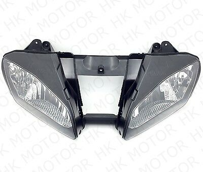 New Front Black Head Light Lamp For 2006-2007 Yamaha YZF-R6 YZFR6 R6 06 07 USA • 40.36£