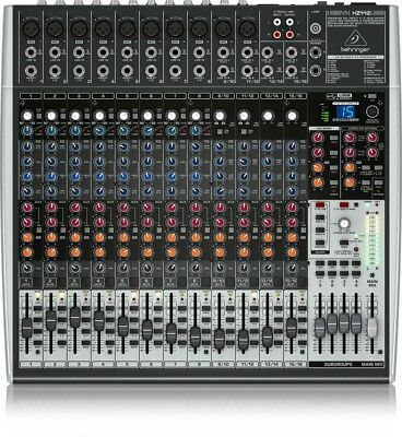 Behringer X2442usb Mixer 24 Input With Usb And Effects For Voice To 24 Bit • 319.51£